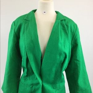 Ashley Stewart Green Blazers Size 18/20 (B-94)